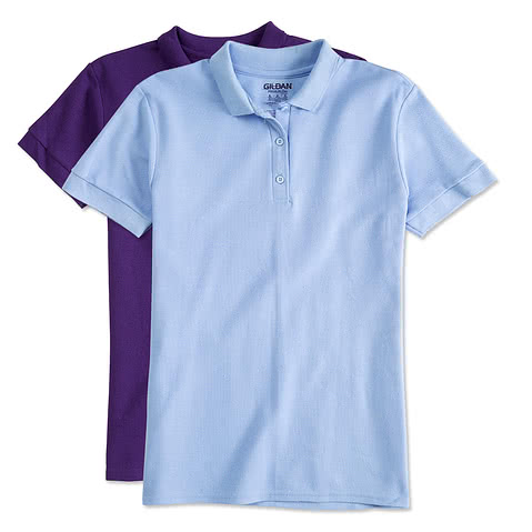 Gildan Ladies Double Pique Polo