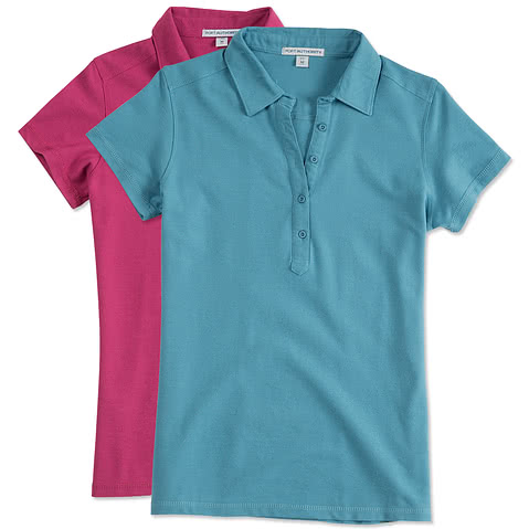 Port Authority Ladies Stain Resistant Polo