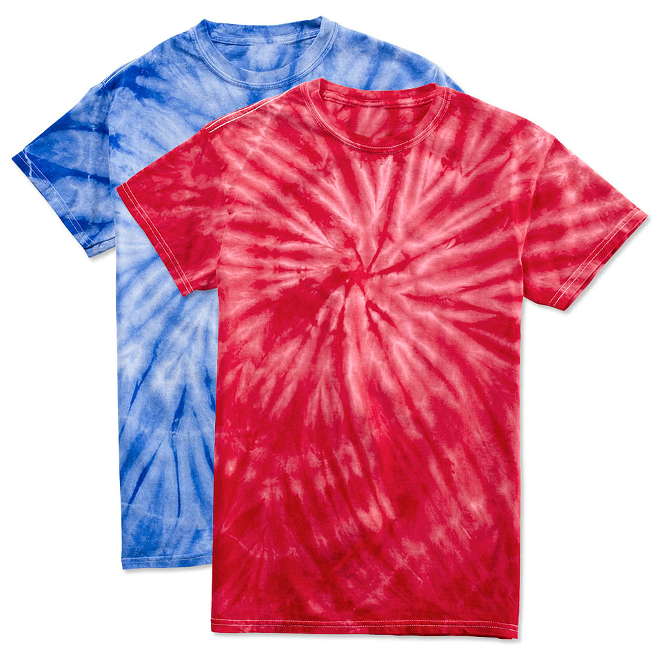 Custom canada dyenomite 100 cotton tonal tie dye t for Tie dye t shirt patterns