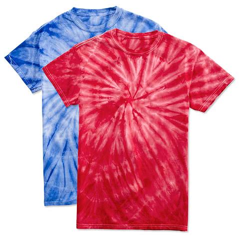 Canada - Dyenomite 100% Cotton Tonal Tie-Dye T-shirt