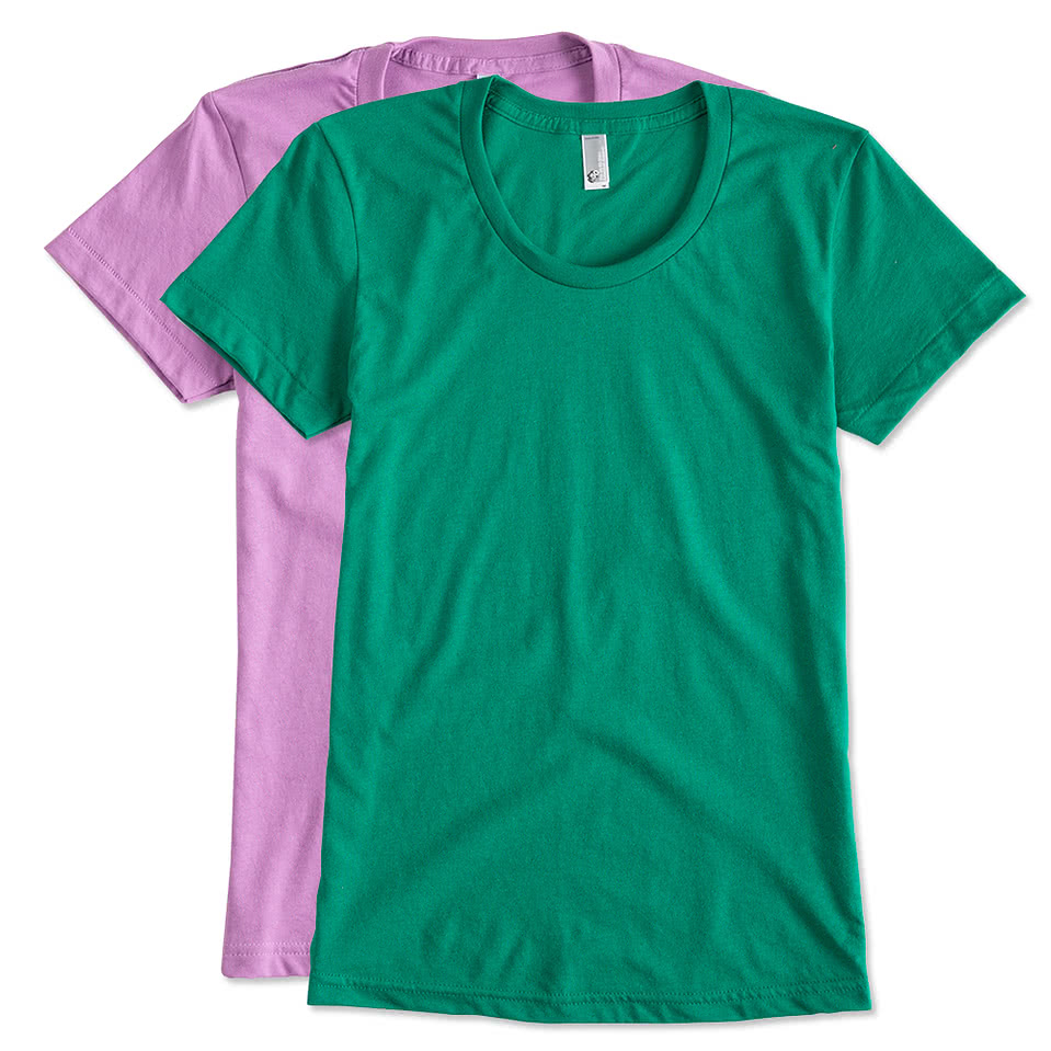 Custom canada american apparel juniors 50 50 t shirt for Custom polo shirts canada