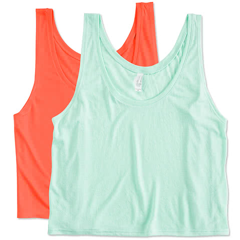 Canada - Bella Juniors Flowy Crop Tank
