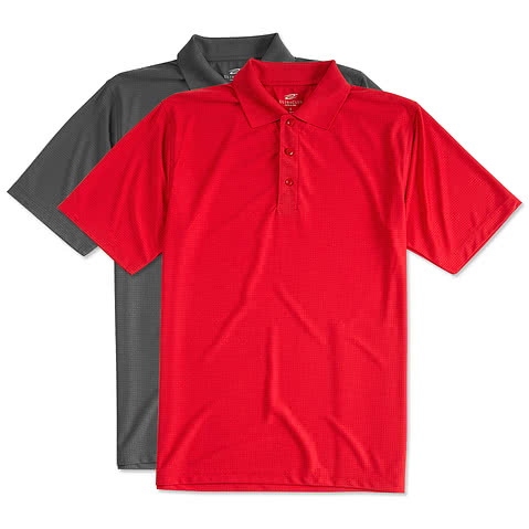Ultra Club Cool & Dry Jacquard Performance Polo