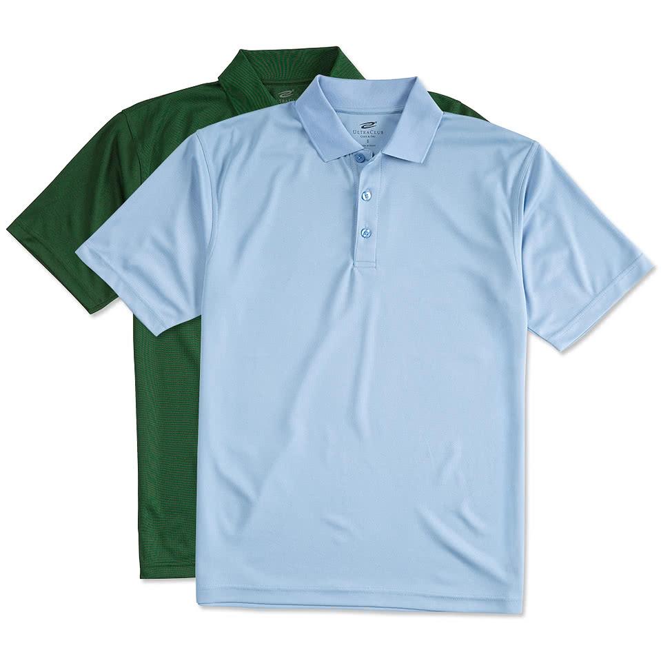Custom ultra club mesh pique performance polo design for Design polo shirts online