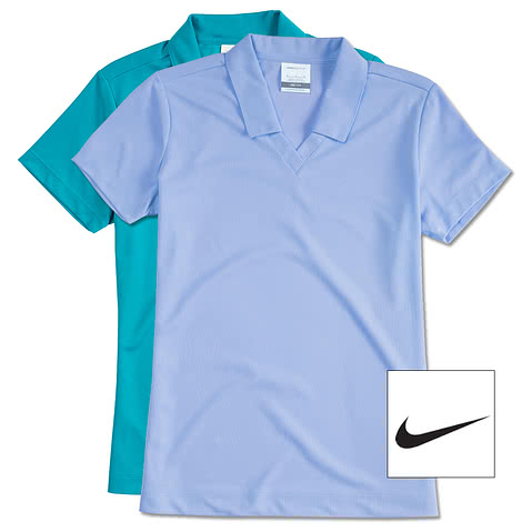 Nike Golf Ladies Dri-FIT Micro Pique Performance Polo