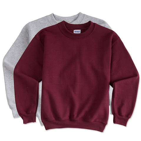 Canada - Gildan Youth Lightweight Crewneck Sweatshirt