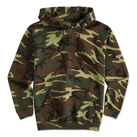 Canada - Code 5 Camo Hooded Sweatshirt
