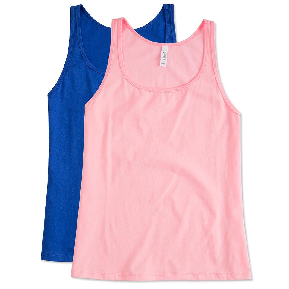 2fec3744f47 Pink Tank Tops - Design Your Own Custom Pink Tank Tops Online