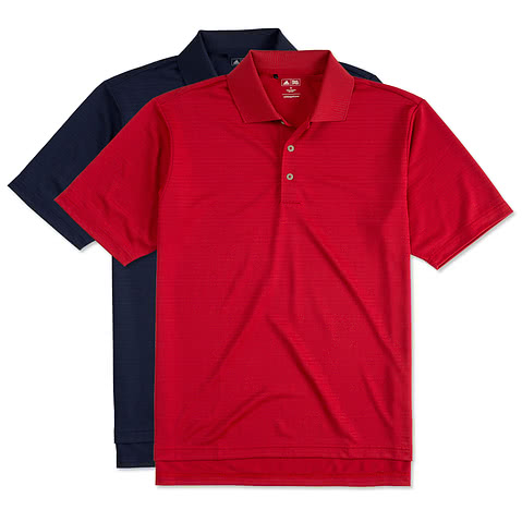 Adidas ClimaLite Textured Performance Polo