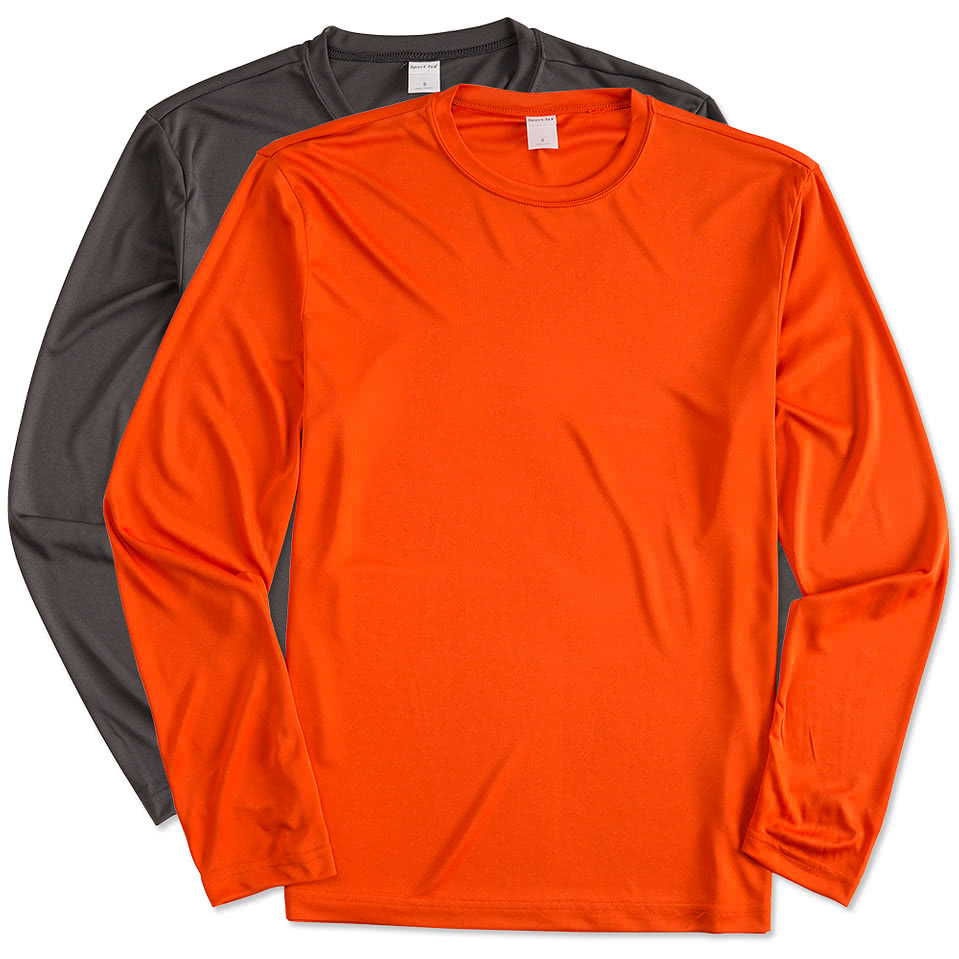 Design t shirt online canada - Custom Canada Atc Competitor Long Sleeve Performance Shirt Design Athletics Online At Customink Com