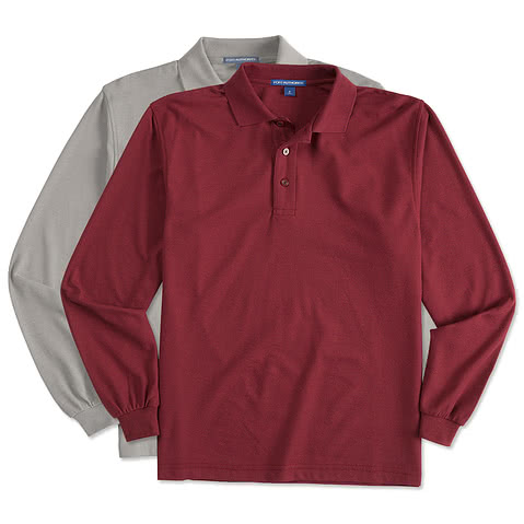 Canada - Coal Harbour Silk Touch Long Sleeve Polo