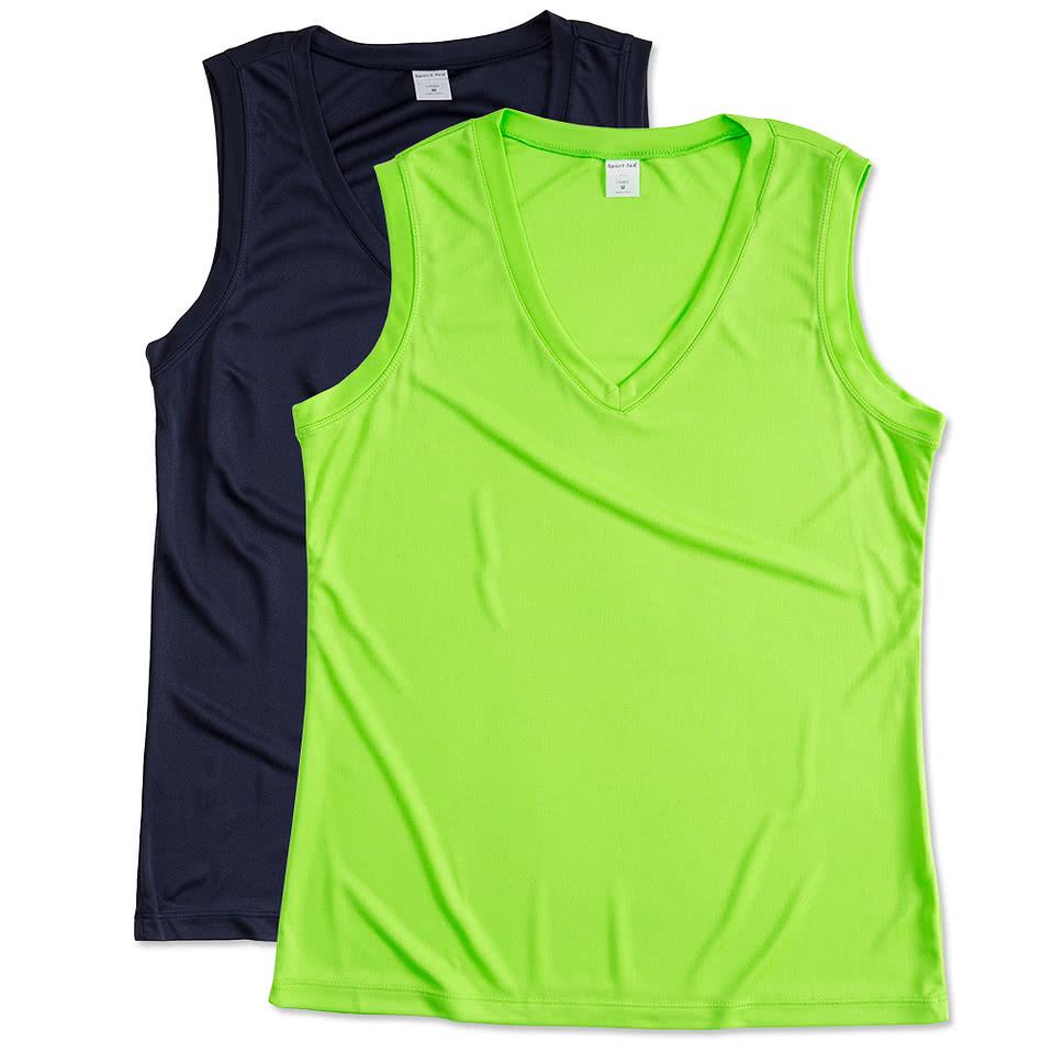 Shirt design canada - Canada Atc Ladies Competitor Performance Sleeveless Shirt