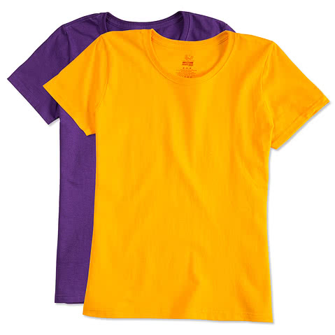 Canada - Fruit of the Loom Ladies Lightweight 100% Cotton T-shirt