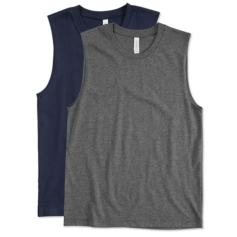 Canvas Muscle Tank