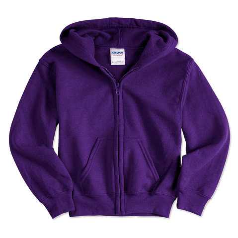 Gildan Youth Zip Hoodie