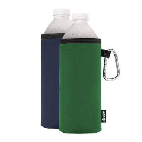 Foldable Large Bottle KOOZIE ® w/ carabiner