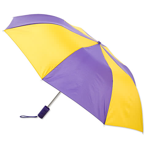 Vitronic Multi-Tone Auto Open Compact Umbrella