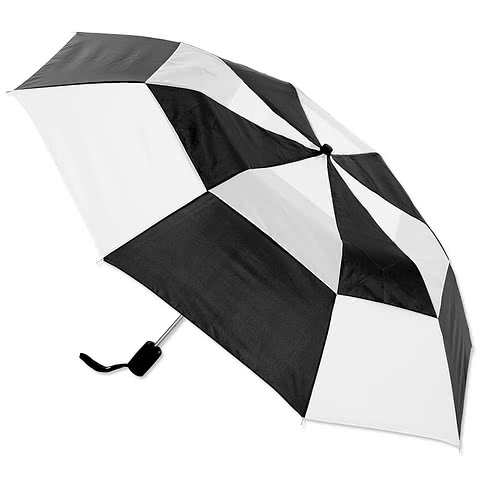 Vitronic Multi-Tone Auto Open Vented Umbrella