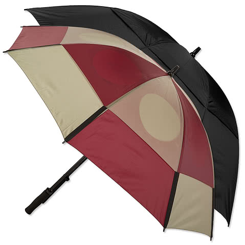 Vitronic Wind Tamer Vented Golf Umbrella