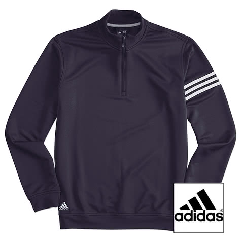 Adidas ClimaLite 1/4 Zip Performance Pullover
