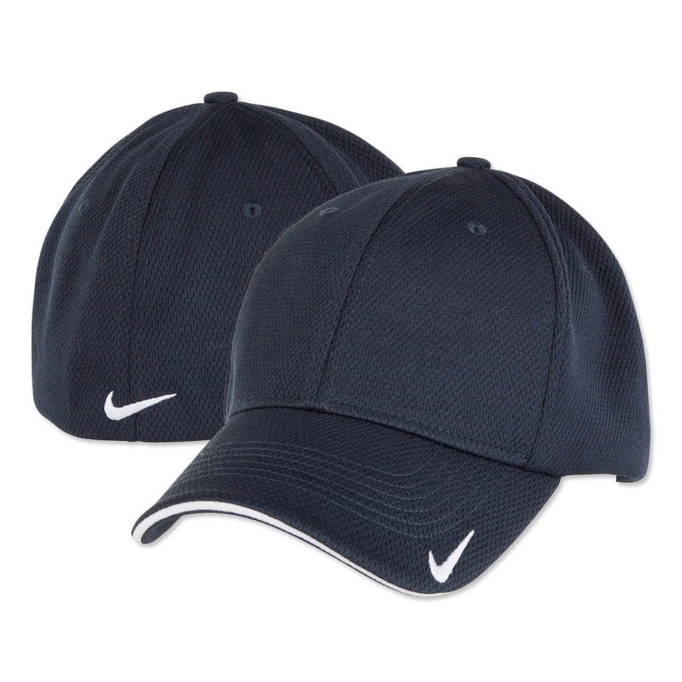 Custom Nike Golf Dri Fit Stretch Performance Hat Design
