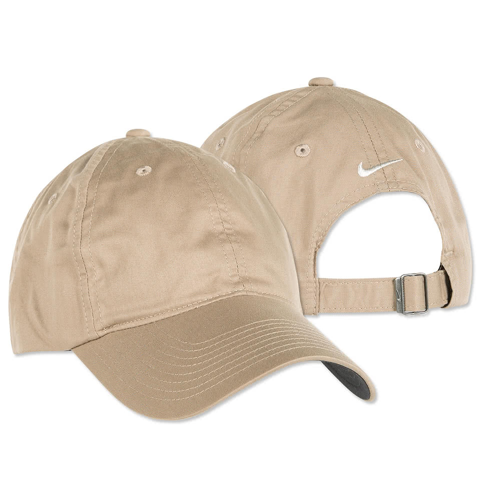 Custom nike golf twill hat design premium hats online at customink altavistaventures Gallery
