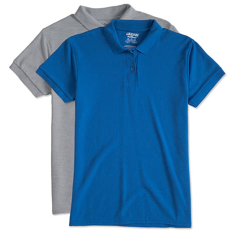 Gildan Ladies Dryblend Double Pique Polo
