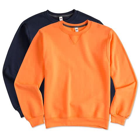 Fruit of the Loom Soft Spun Crewneck Sweatshirt