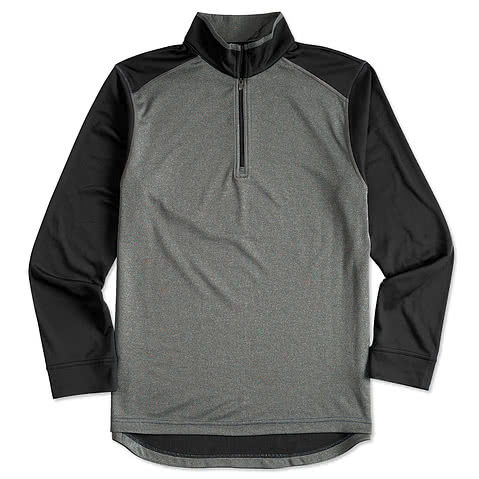 Ultra Club Lightweight Colorblock 1/4 Zip Performance Pullover