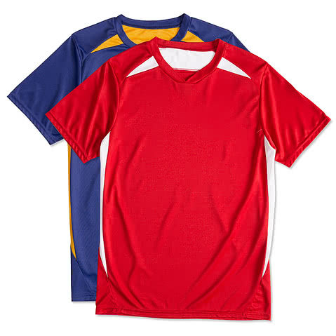 High Five Contrast Performance Soccer Jersey