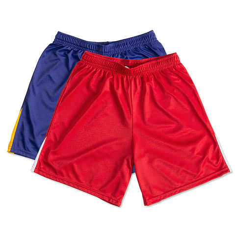 High Five Contrast Performance Soccer Shorts
