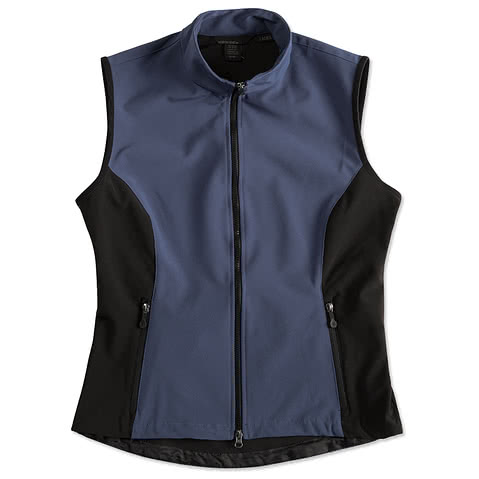 North End Ladies Soft Shell Vest