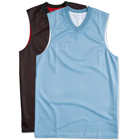 Teamwork Fadeaway Reversible Mesh Basketball Jersey