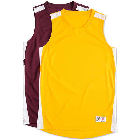 High Five Contrast Basketball Jersey