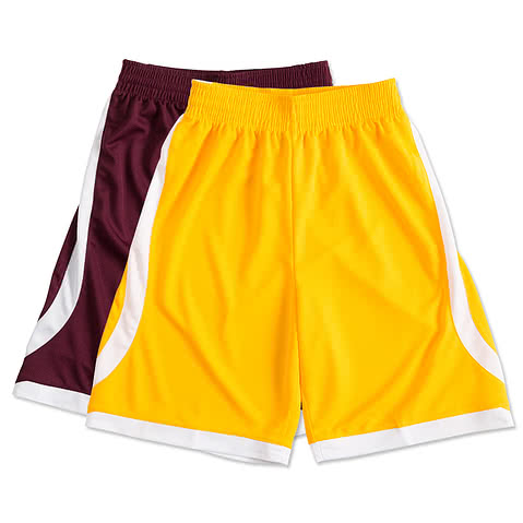High Five Contrast Basketball Shorts