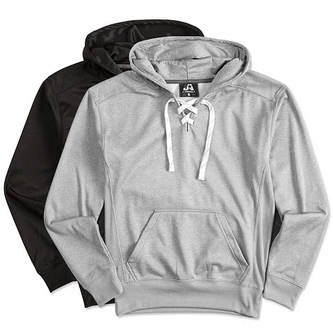 J. America Performance Hockey Hooded Sweatshirt