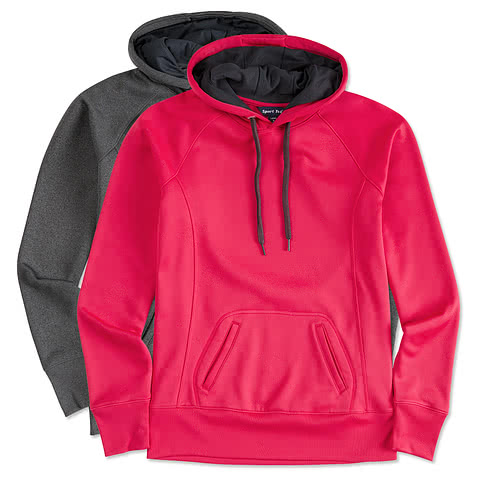Sport-Tek Ladies Tech Performance Hooded Sweatshirt