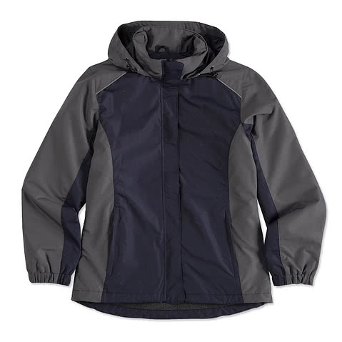 Core 365 Ladies Colorblock Fleece Lined All-Season Jacket