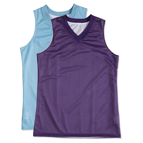 Teamwork Ladies Fadeaway Reversible Mesh Basketball Jersey