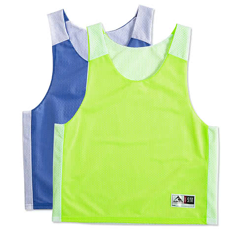 Augusta Reversible Colorblock Practice Pinnie