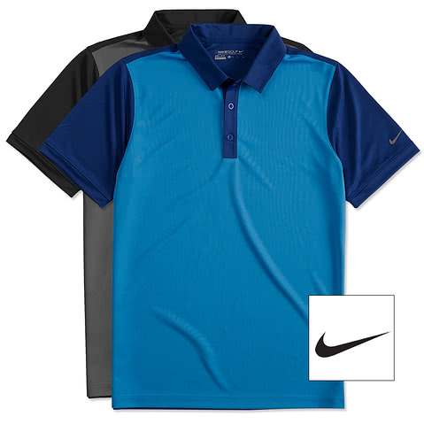 Nike Golf Dri-FIT Colorblock Icon Performance Polo