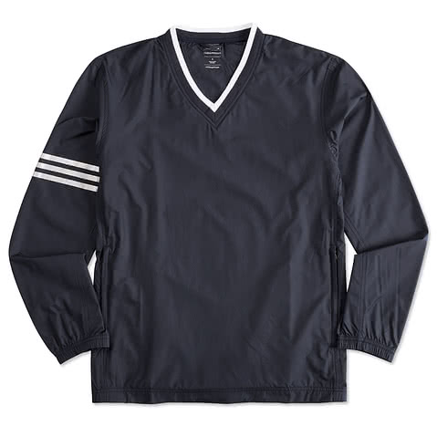 Adidas ClimaProof Colorblock V-Neck Windshirt