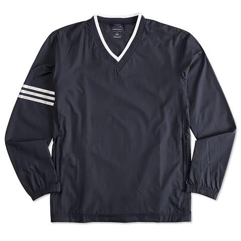 Adidas ClimaProof Colorblock V-Neck Windshirt
