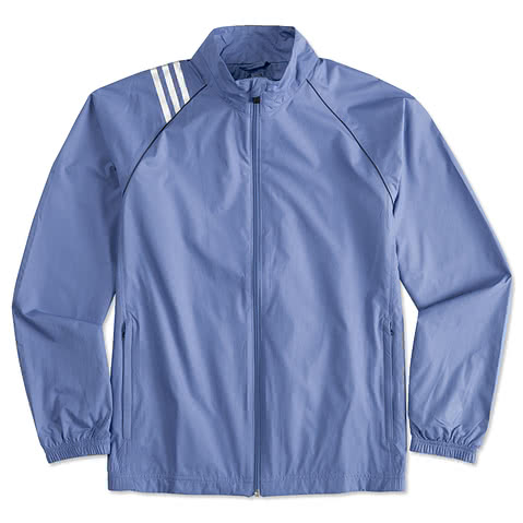 Adidas ClimaProof Three-Stripe Full-Zip Jacket