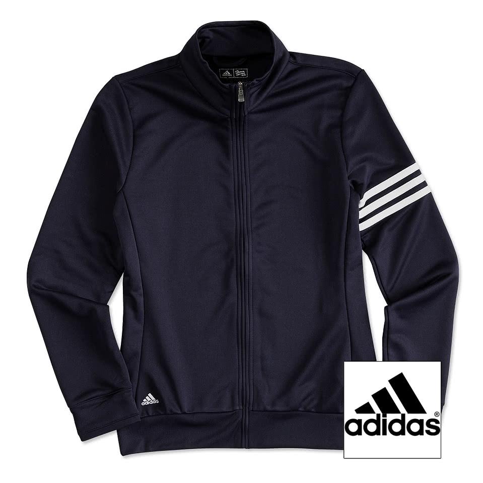 Adidas shirt design your own - Adidas Ladies Climalite Full Zip Performance Sweatshirt
