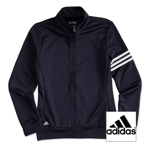 Adidas Ladies ClimaLite Full-Zip Performance Sweatshirt