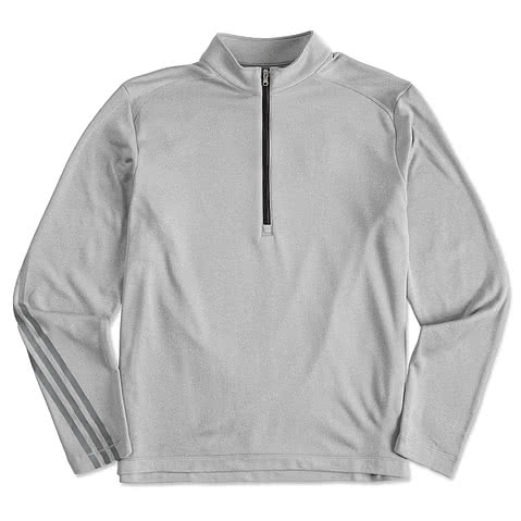 Adidas Golf Brushed Heather 1/4 Zip Pullover