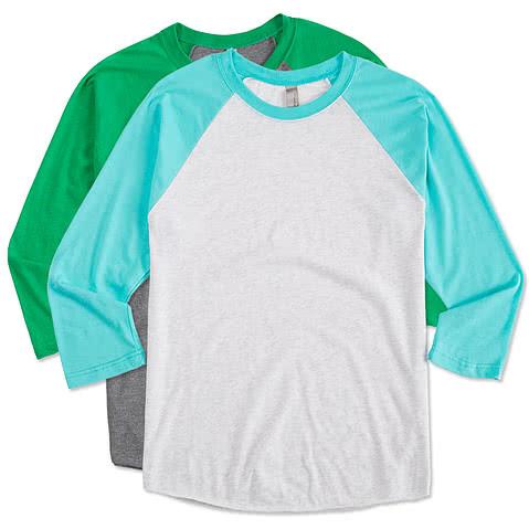 Next Level Tri-Blend Raglan T-shirt