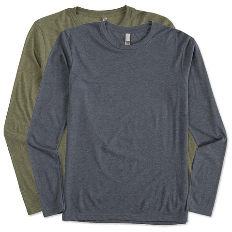 Next Level Tri-Blend Long Sleeve T-shirt