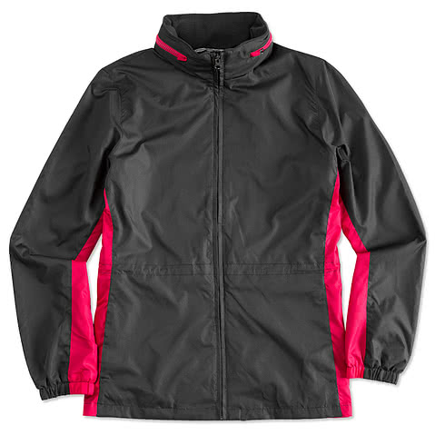 Port Authority Ladies Core Colorblock Full-Zip Jacket